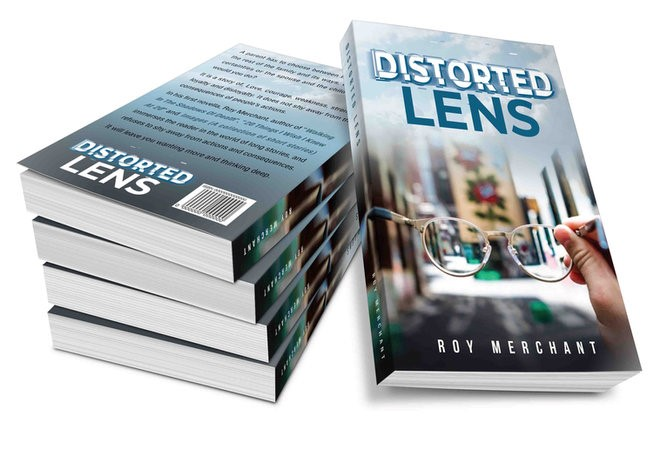 Distorded Lens book cover